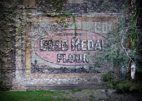Photograph - Gold Medal Flour by Tim Nyberg