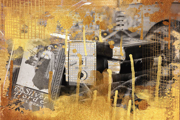 Wall Art - Photograph - Gold Memories by Toni Hopper