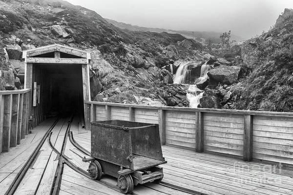 Photograph - Gold Mine Entrance by Paul Quinn