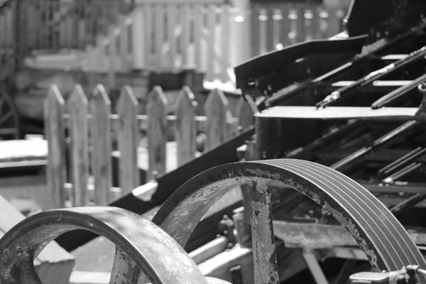 Photograph - Gold Mining And Picket Fences by Colleen Cornelius