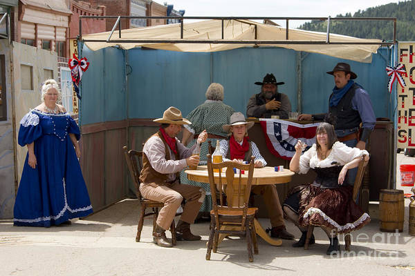 Photograph - Gold Rush Days In Victor Colorado by Steve Krull