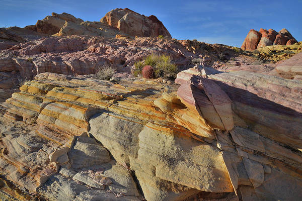 Photograph - Gold Vein And Golden Dome In Valley Of Fire by Ray Mathis