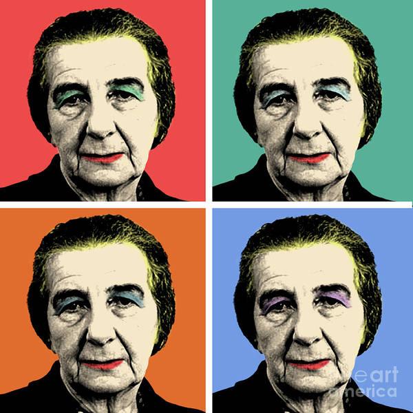 Wall Art - Photograph - Golda Meir by Mark Ashkenazi