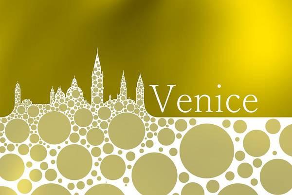 Digital Art - Goldeb Cool Venice by Alberto RuiZ