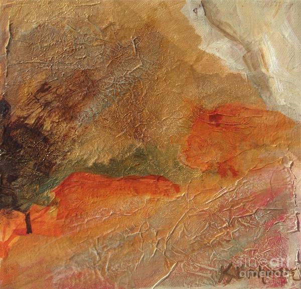 Painting - Golden Amber by Kristen Abrahamson