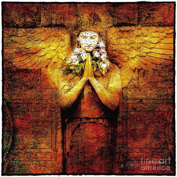 Photograph - Golden Angel by Craig J Satterlee
