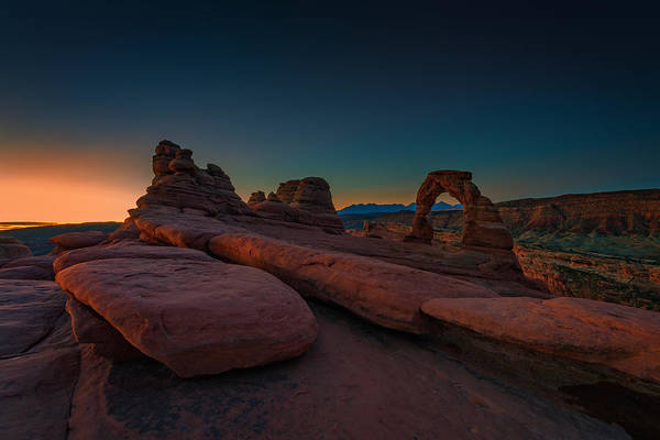 Photograph - Golden Arch by Rick Berk