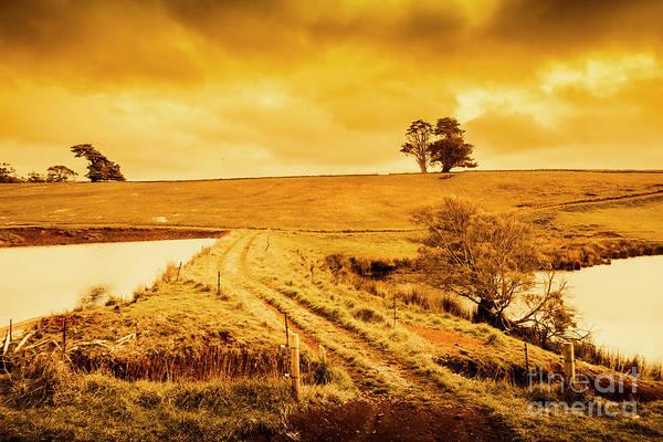 Photograph - Golden Australia Sunset by Jorgo Photography - Wall Art Gallery