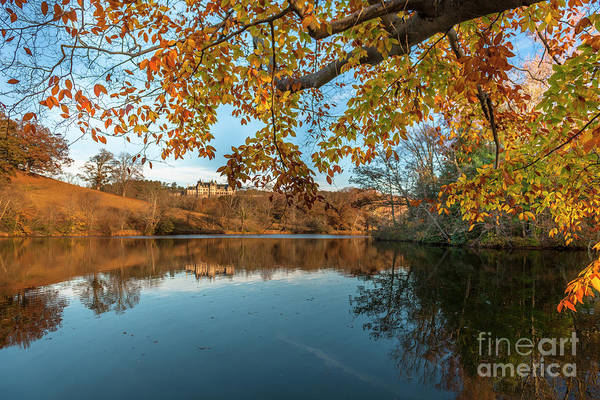 Photograph - Golden Autumn Colors At Biltmore by Dale Powell