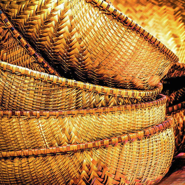 Photograph - Golden Baskets by Donna Lee