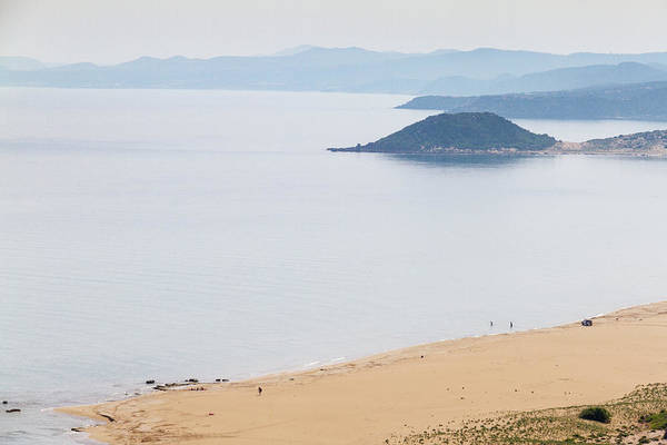 Sea Wall Art - Photograph - Golden Beach Or Turtle Beach In Karpasia, Island Of Cyprus by Iordanis Pallikaras