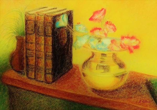 Drawing - Golden Books by Denise F Fulmer