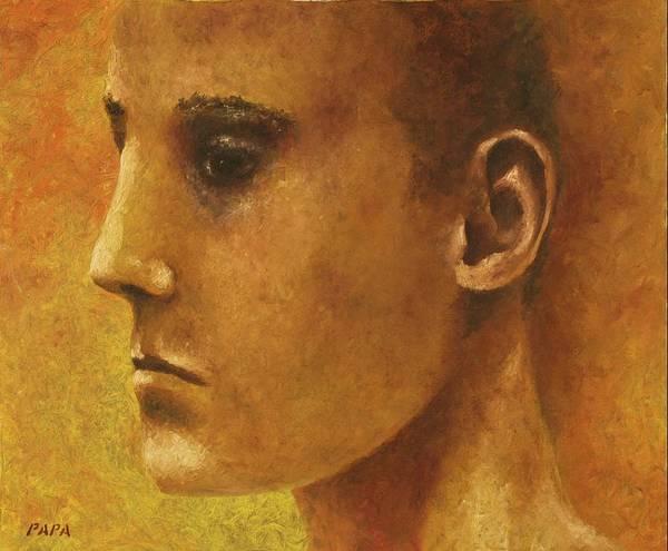 Wall Art - Painting - Golden Boy by Ralph Papa
