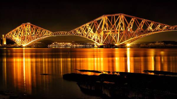 Photograph - Golden Bridge by Grant Glendinning
