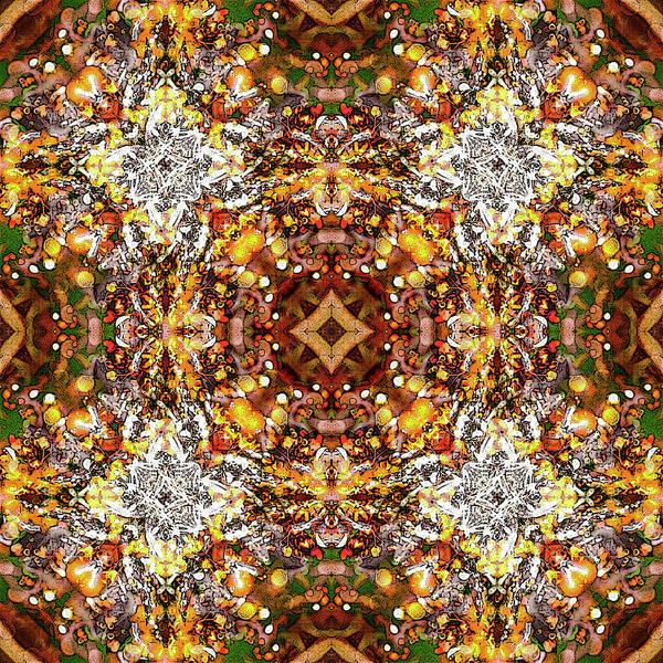 Digital Art - Golden Brown by Frans Blok