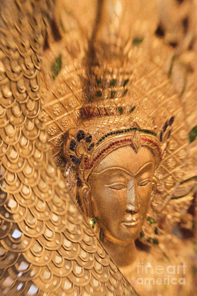 Adorn Photograph - Golden Buddha by Ron Dahlquist - Printscapes