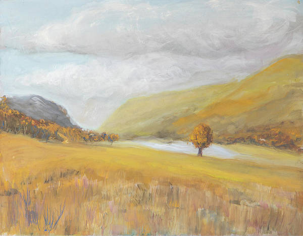Clarity Painting - Golden Buttermere by Kathryn Bell