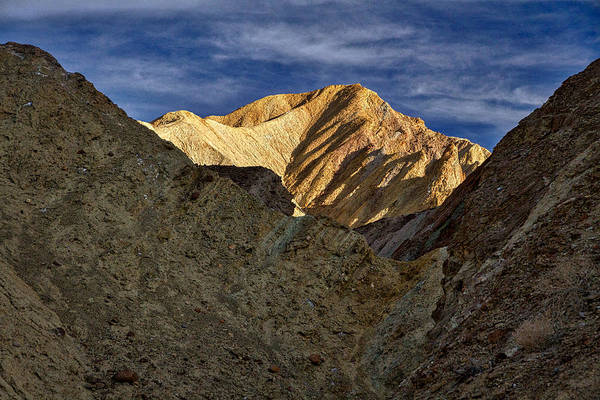 Photograph - Golden Canyon View #2 - Death Valley by Stuart Litoff