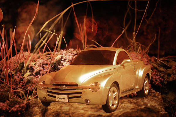 Photograph - Golden Chevy - Ssr by Ericamaxine Price