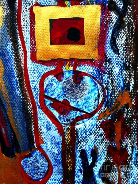Painting - Golden Child-2 by Katerina Stamatelos