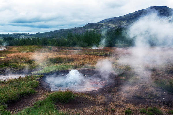 Geothermal Photograph - Golden Circle - Iceland by Joana Kruse
