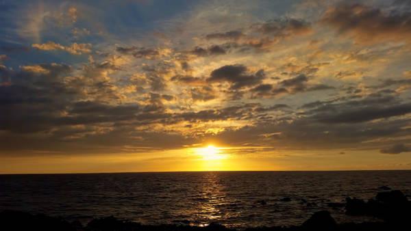 Photograph - Golden Clouds by Pamela Walton