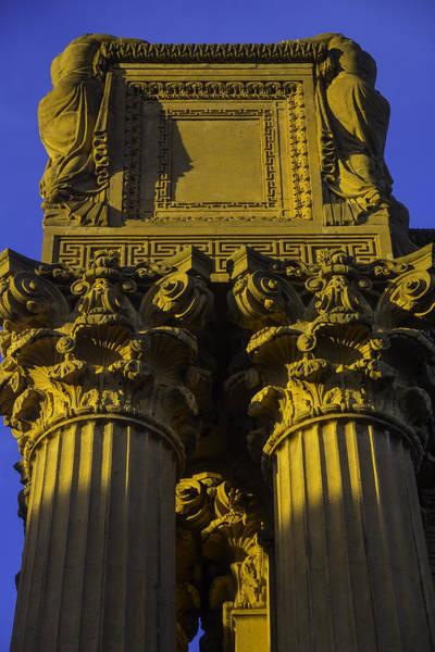 Wall Art - Photograph - Golden Columns Palace Of Fine Arts by Garry Gay