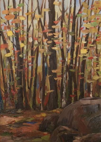 Painting - Golden Day by Monica Ironside