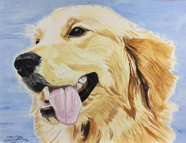 Painting - Golden Day by Sonja Jones