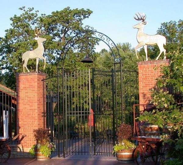 Sculpture - Golden Deer by Hans Droog