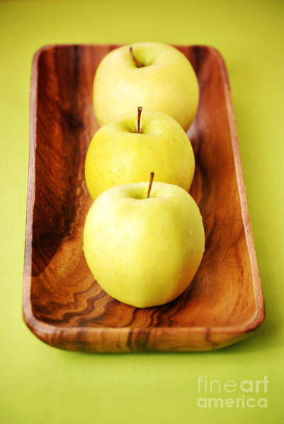 Golden Delicious Wall Art - Photograph - Golden Delicious Apples by HD Connelly