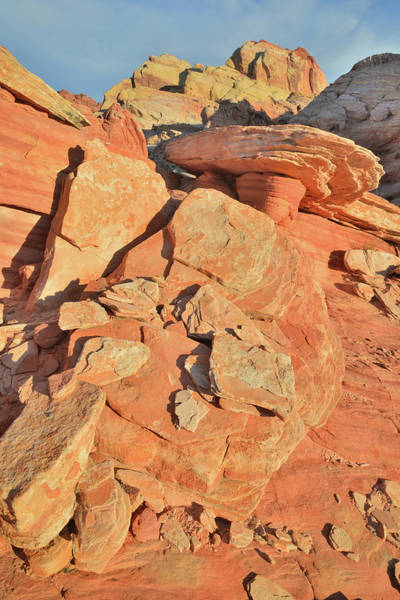 Photograph - Golden Dome Of Valley Of Fire by Ray Mathis