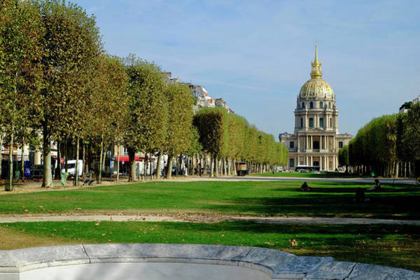 Photograph - Golden Dome Paris by August Timmermans
