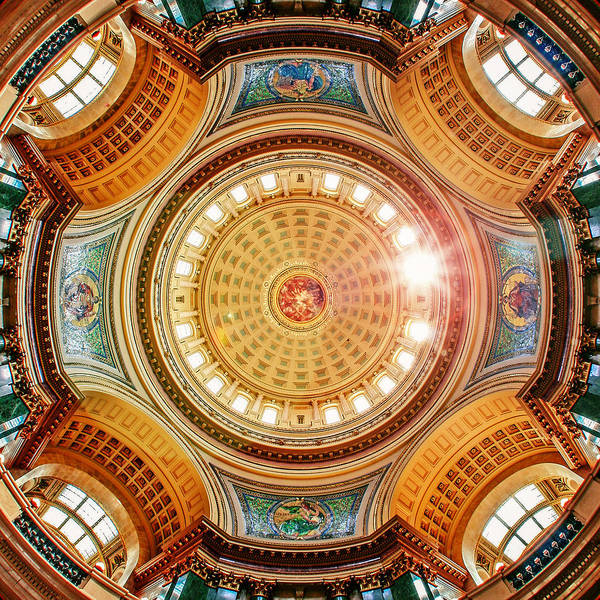 Photograph - Golden Dome by Todd Klassy
