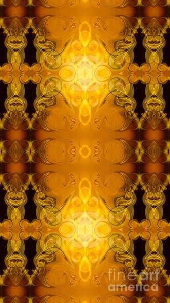 Digital Art - Golden Dreams Abstract Organic Bliss Art By Omaste Witkowski by Omaste Witkowski