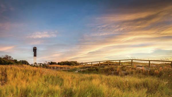 Photograph - Golden Dunes Sullivan's Island Sc by Donnie Whitaker