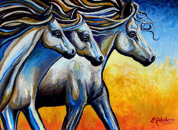 Painting - Golden Embers by Elizabeth Robinette Tyndall