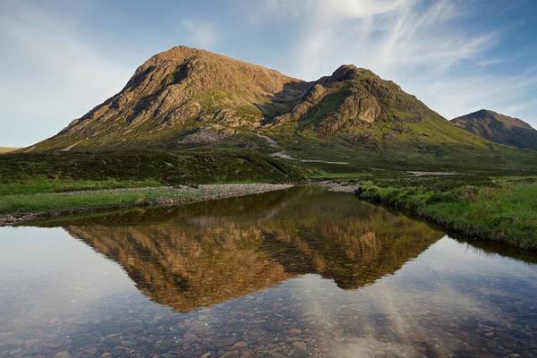 Photograph - Golden Evening Light At Stob Dearg by Stephen Taylor