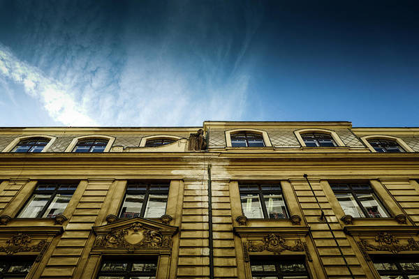 Photograph - Golden Facade by M G Whittingham