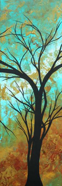 Metallic Painting - Golden Fascination 4 by Megan Duncanson