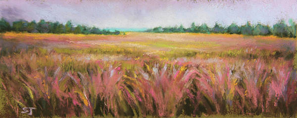 Painting - Golden Field by Susan Jenkins