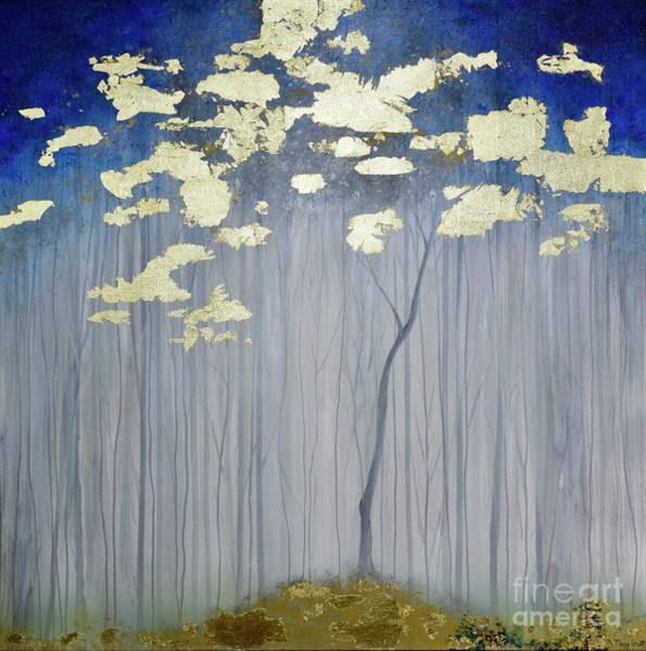 Painting - Golden Forest by Mary Scott