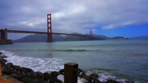 Photograph - Golden Gate by Beth Akerman
