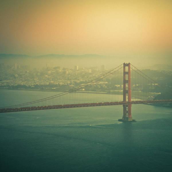 Fog Photograph - Golden Gate Bridge by © Reny Preussker