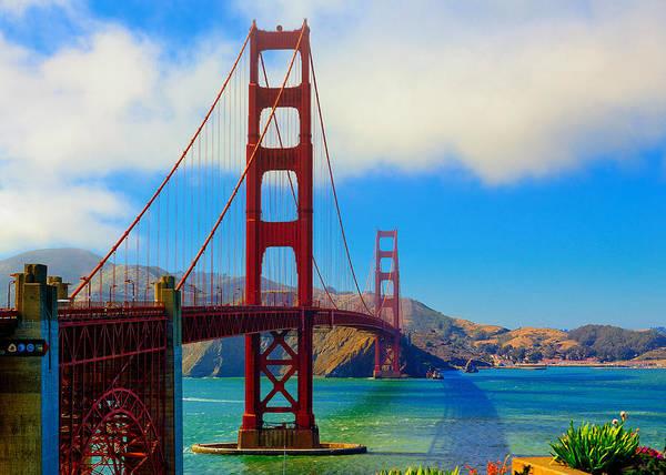 Photograph - Golden Gate Bridge by Greg Norrell