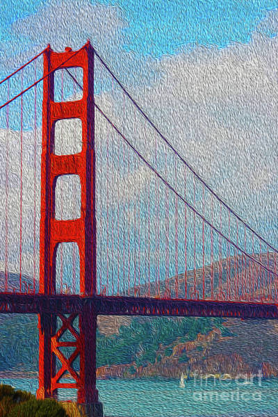 Photograph - Golden Gate Bridge by Jenny Revitz Soper