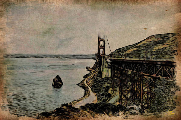 Painting - Golden Gate Bridge by Joan Reese