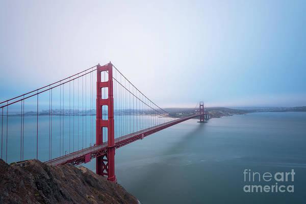 Photograph - Golden Gate Bridge  by Michael Ver Sprill