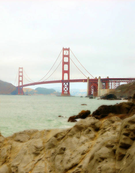 Photograph - Golden Gate Bridge by Nancy Ingersoll