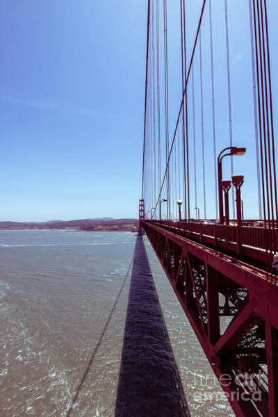 Photograph - Golden Gate Bridge Perspective by Ana V Ramirez
